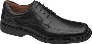 Mens Johnston & Murphy Pattison Lace Up   Black Waterproof Full Grain Leather O