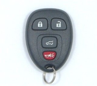 2008 Buick Enclave Remote Rear Glass   Used