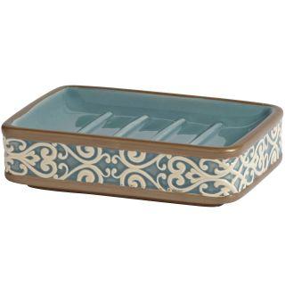 Croscill Classics Grayson Soap Dish, Blue