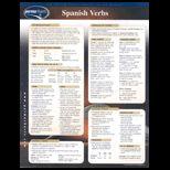 Spanish Verbs Chart Size  2 Panel