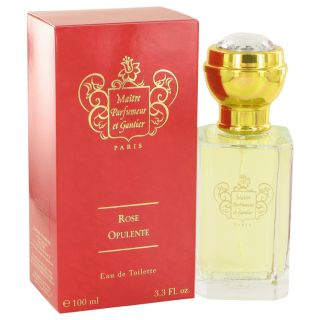 Rose Opulente for Women by Maitre Parfumeur Et Gantier EDT Spray 3.3 oz
