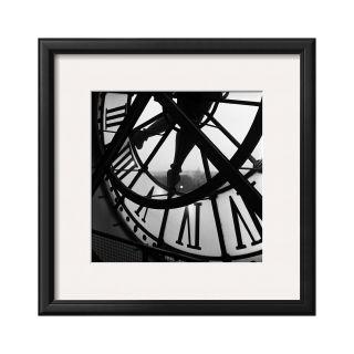 ART Orsay Clock Framed Print Wall Art