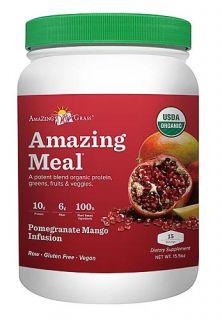 Amazing Grass Pom Mango Amazing Meal   15 servings