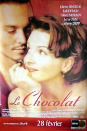CHOCOLAT (FRENCH ROLLED) Movie Poster