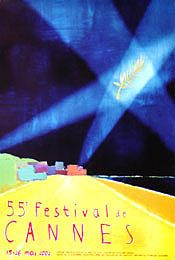 CANNES FILM FESTIVAL POSTER 2002 (FRENCH ROLLED) Movie Poster