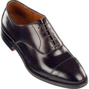 Alden Mens Cap Toe Bal Oxford Shell Cordovan Color 8 Shoes, Size 10.5 E   9070