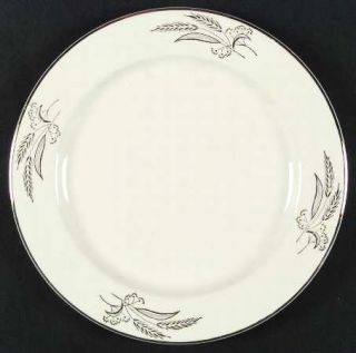 Lifetime Prairie Gold Dinner Plate, Fine China Dinnerware   Gold Wheat