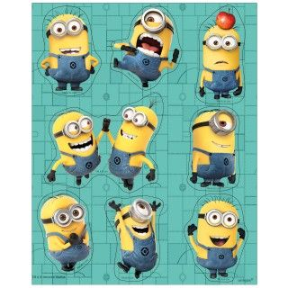 Despicable Me 2   Sticker Sheets