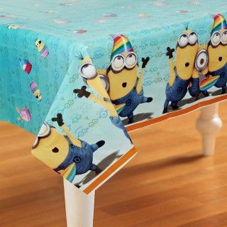 Despicable Me 2   Plastic Tablecover