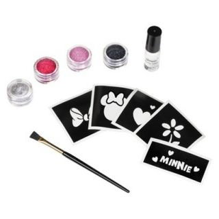 Child Disney Minnie Mouse Glitter Tattoo Kit   One Size Fits Most