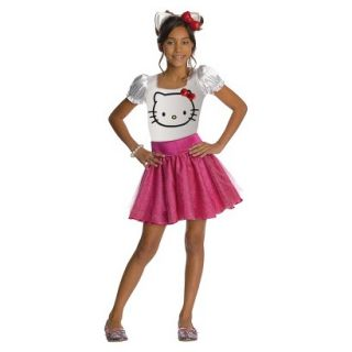 Girls Hello Kitty Costume