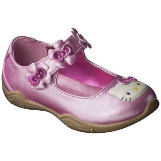 Toddler Girls Hello Kitty Mary Jane Shoe   Pink 8