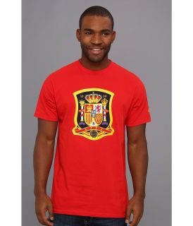 adidas Futbol Crest   Spain Mens T Shirt (Red)