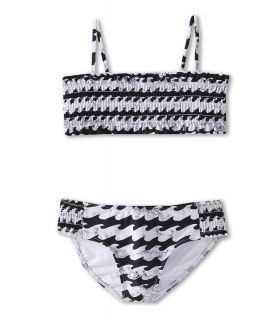 Billabong Kids Wave Bandeau Set Girls Swimwear Sets (Black)