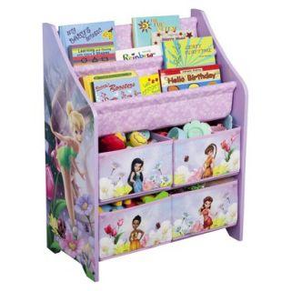 Kids Storage Unit: Delta Childrens Products Book and Toy Organizer   Fairies