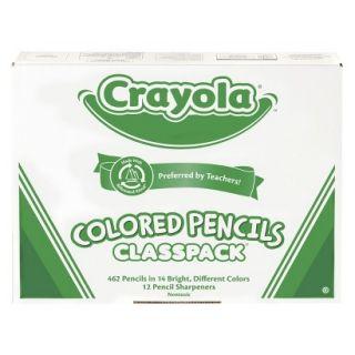 Crayola Colored Pencils Classpack   462 Count