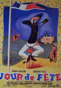 Jour De Fete (French Reprint) Movie Poster