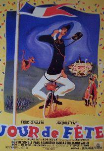 Jour De Fete (French Reprint) Movie Poster