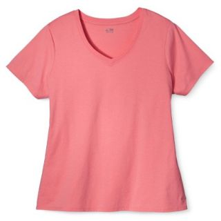 C9 by Champion Womens Plus Size Power Workout Tee   Sunset 1 Plus