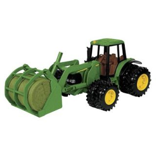 Big Farm John Deere Tractor with Bale Mover