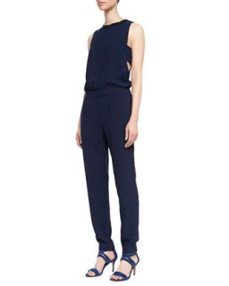 Womens Yasmine Jersey Cut In Jumpsuit   Trina Turk