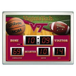 Team Sports America Virginia Tech Scoreboard Clock