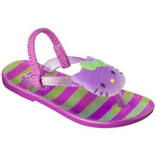 Toddler Girls Hello Kitty Jelly Sandals   Pink L