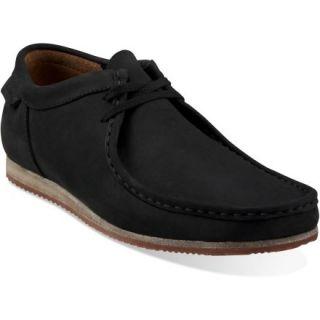 Clarks Wallabee Run Shoes  Mens,  Black NUBUCK,  9
