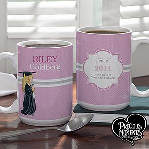 Personalized Large Graduation Coffee Mugs   Precious Moments
