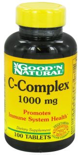 Good N Natural   C Complex 1000 mg.   100 Tablets