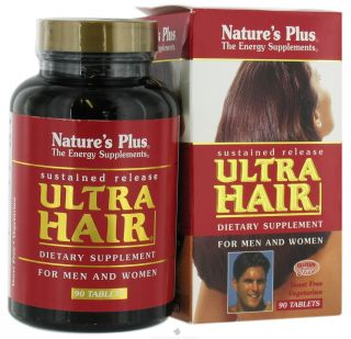 Natures Plus   Ultra Hair Sustained Release   90 Tablets