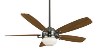 Akira 1 Light Indoor Ceiling Fans in Pewter FP8000PW