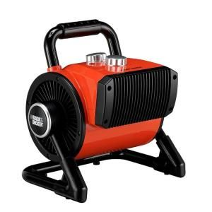 BLACK & DECKER 1500 Watt Utility Ceramic Blow Fan Heater BDH 105