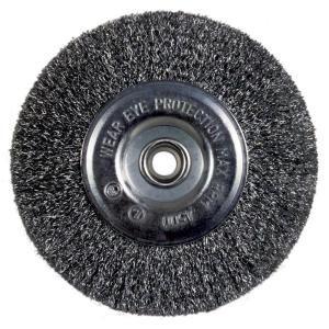 Avanti Pro 6 in. Bench Wire Wheel Coarse PWW060CORT01G