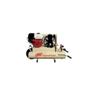 Ingersoll Rand 383 SS3J5. 5GH WB 8 Gal 5. 5Hp Honda Gas Twin Tanks Air Compressor Tools