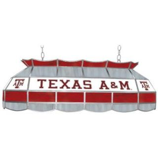 Trademark Global Texas A&M University 3 Light Stained Glass Tiffany Lamp LRG4000 TAMU