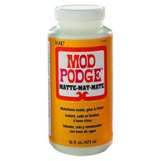 Mod Podge 16 oz. Matte Decoupage Glue CS11302