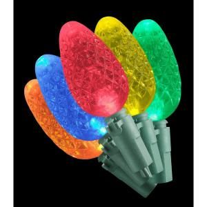 Home Accents Holiday 35 LED Multi Color C6 Lights (Set of 2) DISCONTINUED TY289 815MLX2