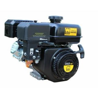 WEN 212 cc Horizontal Shaft Gas Engine 56212