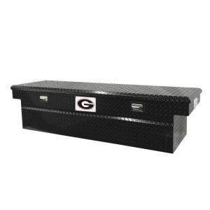 Tradesman 71 in. Aluminum Cross Bed Truck Tool Box DISCONTINUED TALF591BK University of Georgia