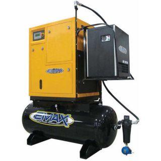 Emax 120 Gallon Rotary Screw Air Compressor Tools