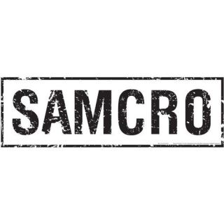 Advanced Graphics Sons of Anarchy Samcro Wall Decal: Decor