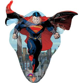 Superman of Steel Shaped Balloon, 35 Party Supplies