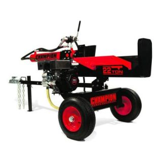 Champion Power Equipment 196 cc 22 Ton Hydraulic Log Splitter with Log Catcher Unassembled (92210) DISCONTINUED 92210