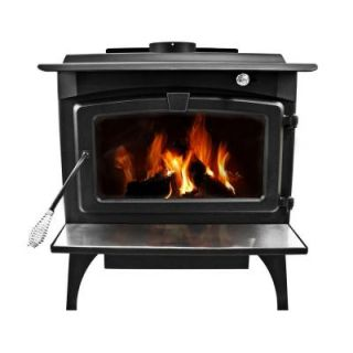 Pleasant Hearth 1,800 sq. ft. EPA Certified Wood Burning Stove with Blower, Medium LWS 127201
