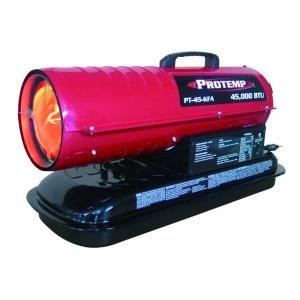 ProTemp 45,000 BTU Forced Air Kerosene Heater DISCONTINUED PT 45 KFA