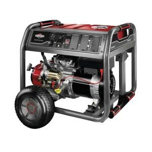 Briggs & Stratton Elite Series 8,000 Watt Gasoline Powered Portable Generator 30471