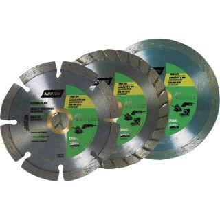 Norton Diamond Wheels   4 Inch, Wet/Dry, 3 Pack, Model 076607052674