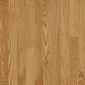 Bruce Laurel Oak Dune 3/4 in. Thick x 2 1/4 in. Wide x 84 in. Length Solid Hardwood Flooring (20 sq. ft./case) DISCONTINUED CB332