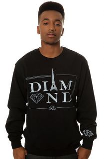Diamond Supply Co. Sweatshirt Paris Crewneck in Black